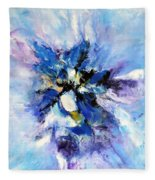 Blue Mystery Fleece Blanket