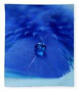 Blue On Blue Fleece Blanket