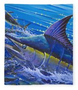 Blue Persuader  Fleece Blanket