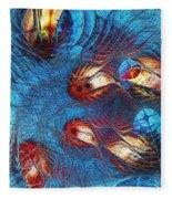 Blue Pond Fleece Blanket