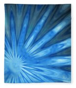 Blue Rays Fleece Blanket