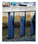 Blue Reflections Fleece Blanket