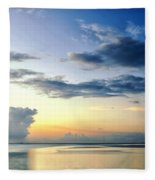 Blue Relax Fleece Blanket
