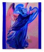 Blue Rhapsody Fleece Blanket