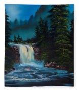 Mountain Falls Fleece Blanket