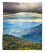 Blue Ridge Glory Fleece Blanket