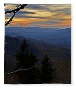 Blue Ridge Last Light Fleece Blanket