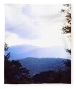 Blue Ridge Mountains Fleece Blanket