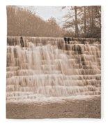 Blue Ridge Parkway Rainy Day Fleece Blanket