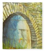 Blue Ridge Tunnel Fleece Blanket