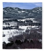 Blue Ridge Vista Fleece Blanket