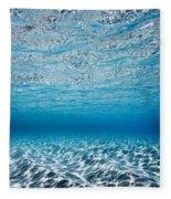 Blue Sea Fleece Blanket