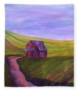 Blue Skies In The Hill Country Fleece Blanket