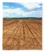 Blue Sky And Field 14567 Fleece Blanket