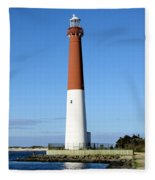 Blue Sky Blue Sea  And Barnegat Light Fleece Blanket