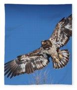 Blue Sky Flight Fleece Blanket