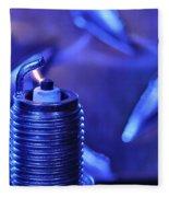 Blue Spark Fleece Blanket