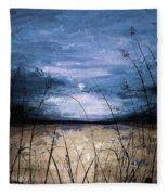 Blue Sunset Fleece Blanket
