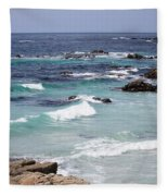 Blue Surf Fleece Blanket
