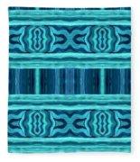 Blue Teal Dreams Fleece Blanket