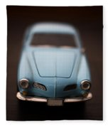 Blue Toy Car Fleece Blanket