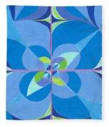 Blue Unity Fleece Blanket