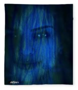 Blue Veil Fleece Blanket