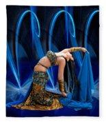 Blue Veils Fleece Blanket