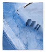 Blue Wall 03 Fleece Blanket