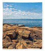 Blue Waters And Blue Skies Fleece Blanket