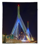 Blue Zakim Fleece Blanket