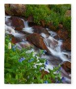 Bluebell Creek Fleece Blanket