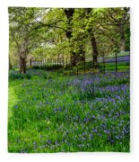 Bluebell Way Fleece Blanket