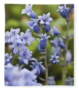 Bluebells 2 Fleece Blanket