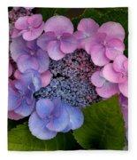Blueberries And Cream Fleece Blanket