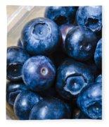 Blueberries Punnet Fleece Blanket