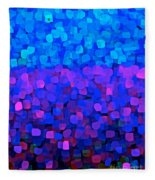 Blueberry Passion Fruit Fleece Blanket
