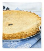Blueberry Pie Fleece Blanket
