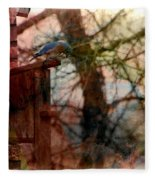 Bluebird Home Fleece Blanket