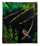 Bluebird Shimmer Fleece Blanket