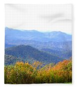 Blueridge Parkway Mm404 Fleece Blanket