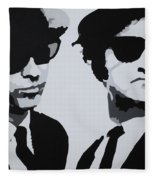 Blues Brothers Fleece Blanket