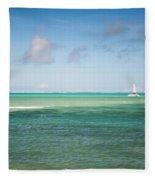 Blues. Mauritius Fleece Blanket