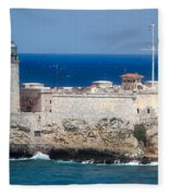 Blues Of Cuba Fleece Blanket