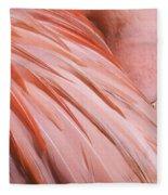 Blushing Flamingo Fleece Blanket