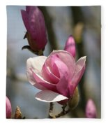 Blushing Magnolia Fleece Blanket