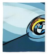 Bmw 40 Fleece Blanket