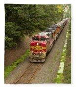 Bnsf Train 789 D Fleece Blanket