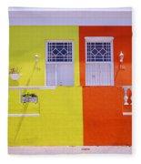 Bo Kaap House Fleece Blanket