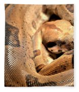 Boa Constrictor Fleece Blanket